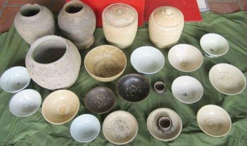 Phát hiện gốm sứ cổ thời Trần, Lê