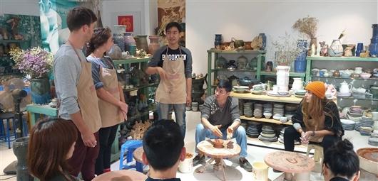 Workshop tại Gốm Chi