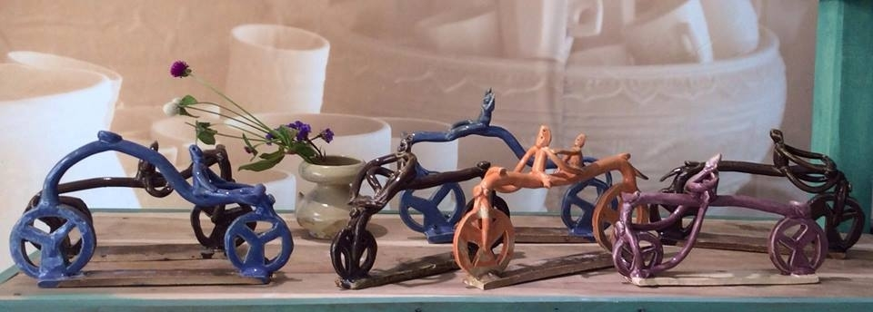 Bộ sưu tập Xe đạp ơi! gồm 7 sp.