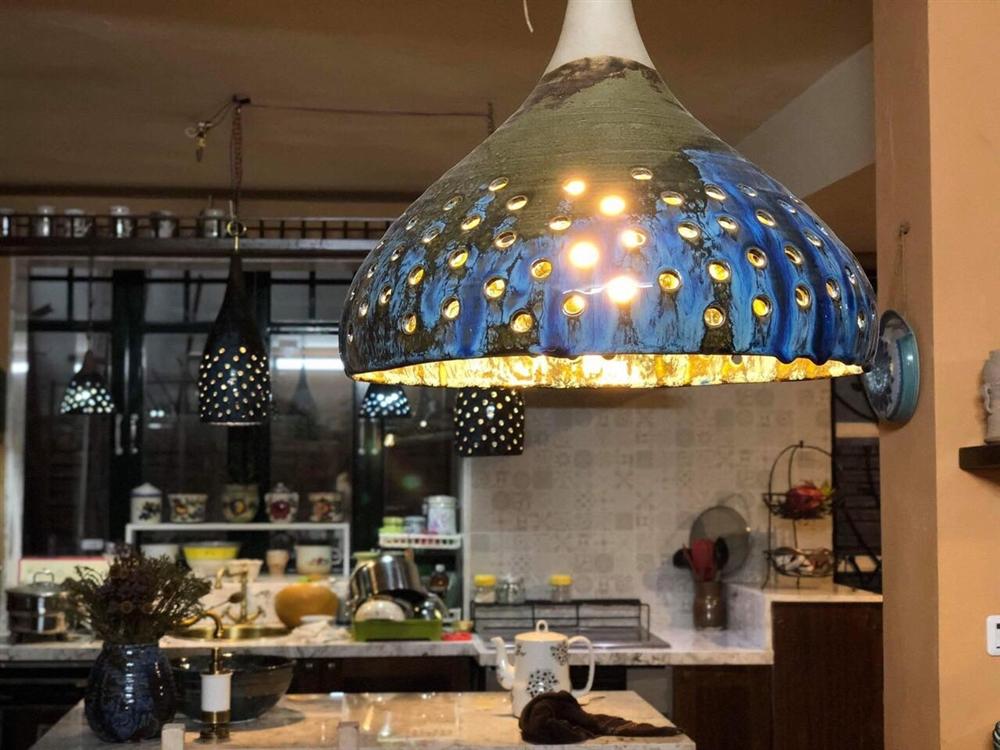 Gốm nội thất - Chao đèn M180621